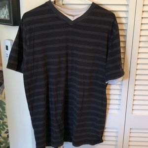 Other - Men's Gray/Black striped the shirt no flaws SzL